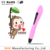 2017 free filament output 5V 2A 3d Printing pen safty for kids 3d pen