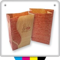 high quality custom fast food/frozen food paper bags