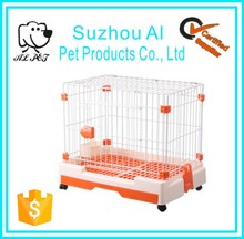 Equipped Food Bowl Toilet Mobile Pet Dog Kennels Cages