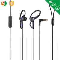 Novel earhook style headphone with Microphone call button noise cancelling