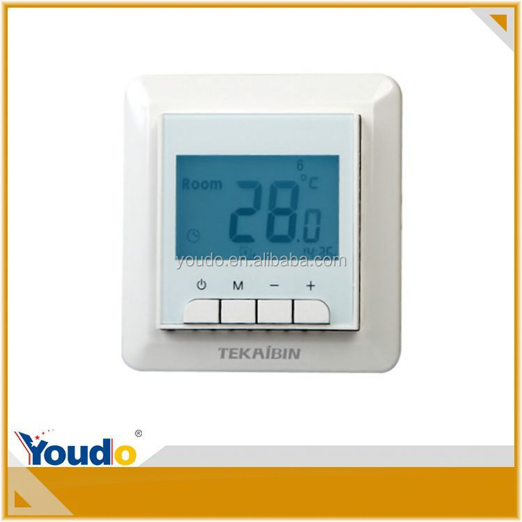 New Design Luxury 120V Dual Digital Thermostat Switch 30W