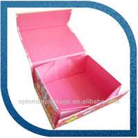 rectangle folding paper box