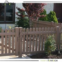 High Qualtiy Cost Effective White Picket Fence Aluminium Insert