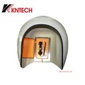 waterproof  phone booth 23dB noise reduction KNRF-14 Acoustic TELEPHONE hood use in noisy areas and harsh environments