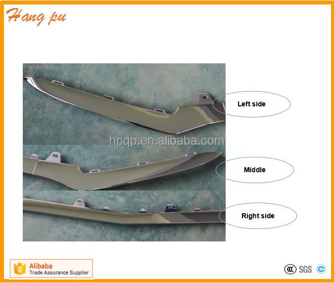 amg body parts <strong>accessories</strong> front bumper chrome pad left <strong>n</strong> right molding liter A2058851374 2058851574 for BZ W205 AMG 2016