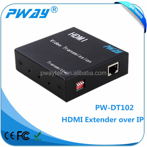 Extender Over IP Support Many to Many TCP/IP and IGMP Protocol HDMI Extender