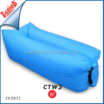 ECOIOU Patent Europe Largest exporter Nylon Ripstop Waterproof fabric inflatable laybag with CE en71 Approved