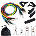 Home Workout Physical Elastic Training Pack 11pcs resistance band