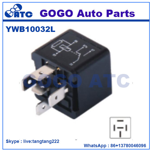 Black Relay Universal 5 Pin for LandRover OEM YWB10032L