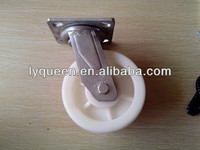 High Quality PP material swivel rubber caster wheels
