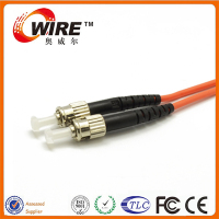 OM3 Multi Mode 2 Core Simplex Fiber Optical Jumper Cable Wire