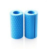 Elemart Thick Bar Grips - Comfortable and Durable Non-slip Silicone Rubber Hand Fat Bar Grip