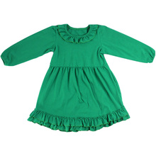 Kaiyo boutique long frocks for school girls without long sleeve dress blanks boutique fancy dresses for baby girl