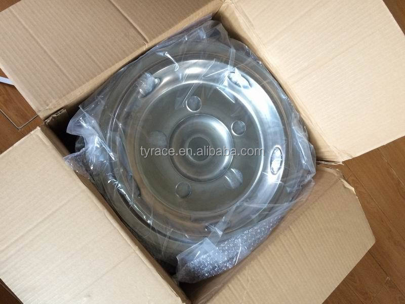 "stainless steel wheel cover for toyota coaster 16"" wheel rim"