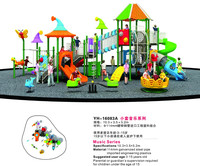 Lastic Material Play Equipment Garden House Outdoor Game Machines For Children