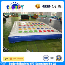 2016 New Design Inflatable Twister Mattress, Inflatable Twister Game / Juegos For Hot Sale
