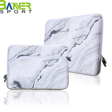 Marbling design laptop sleeve bag notebook computer case carrying bag lightweight