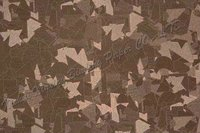 Granceful light-brown pattern PVC coated art supplies paper