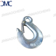 Forged carbon steel eye hook slip type with latch