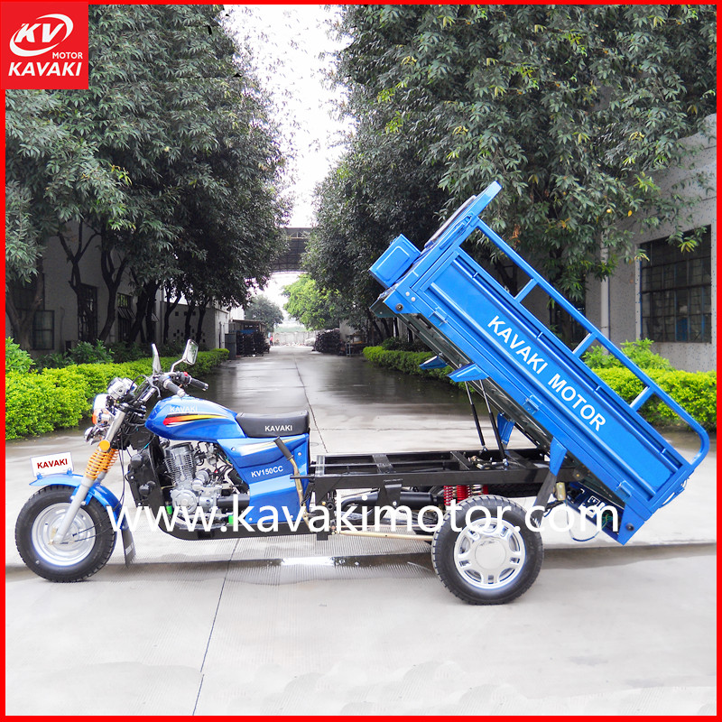 Hot selling high quality Africa cargo tricycle 200cc Super GALAXY