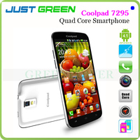Good Gifts!Smart Phone RAM 1GB ROM 4GB MTK6589 Quad Core Max 1.228GHz 5 Inch Coolpad 7295 Android 4.1 OS Battery 2000mAh