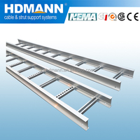 high quality steel ladder type cable tray
