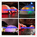 inflatable bubble room dome tent with LED