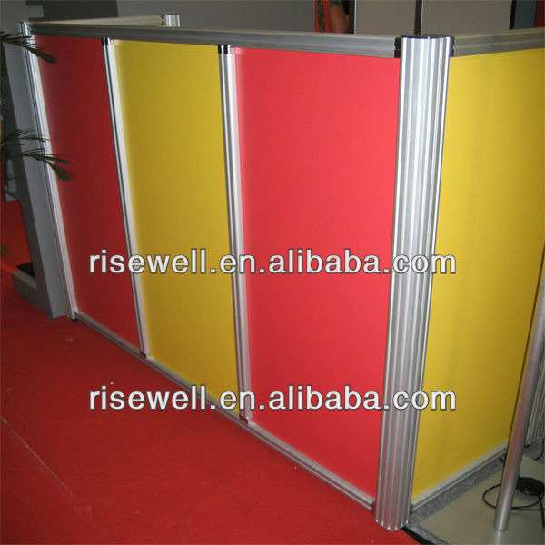 Removable commercial sound proof office partition wall