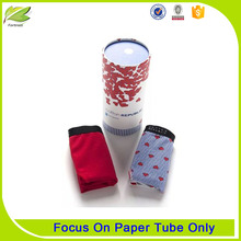 Free Samples Recycled Luxury Clothing Packaging Pape Tube