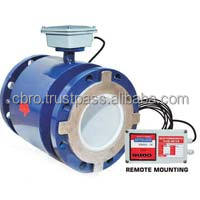 ELECTROMAGNETIC FLOW METER FOR TEXTILE AND DYEING INDUSTRIES