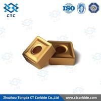 factory supply tin coated tungsten carbide inserts for turning tool