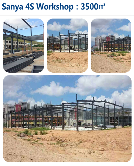 Hot Sale Customized Design Prefabricated Steel Structure Warehouse Building