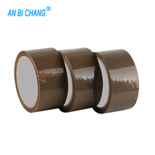 High Adhesive Power BOPP Buff Tape Brown Tape Brown Bopp Parcel Packing Tape