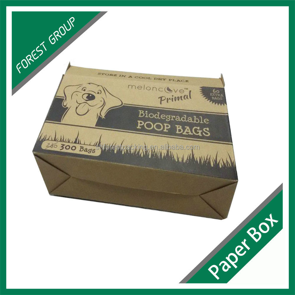 CHEAP PRICE CORRUGATED PAPER POOP BOX WHOLESALE