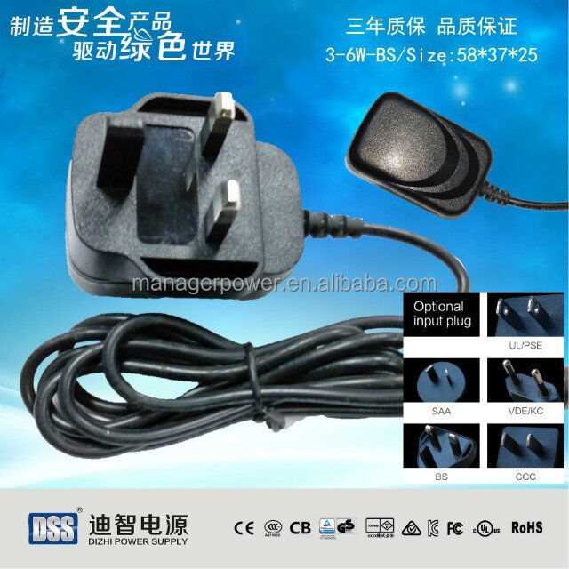 CB CE PSE SAA 5v 1a ac/dc power adapter with USB interface or fixed interface