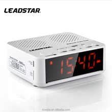 alarm clock with BT speaker digit product Wireless BT Speakers FM with Portable Audio Player Support TF Card