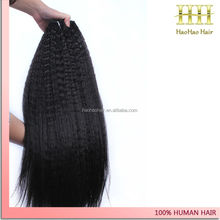 Directly from factory cheap brazilian silky staight remy human hair weft