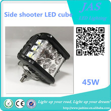 2017 Popular 45W Side shooter LED cube 4*4 auto car offroad lamp