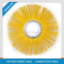 China Manufacturer Road Street Sweeper Brushes PP polypropylene Steel wire Brushes