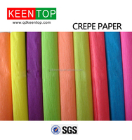 high quality color crepe paper with different stretch