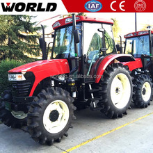 90hp rice farm use paddy field tractor with accessories