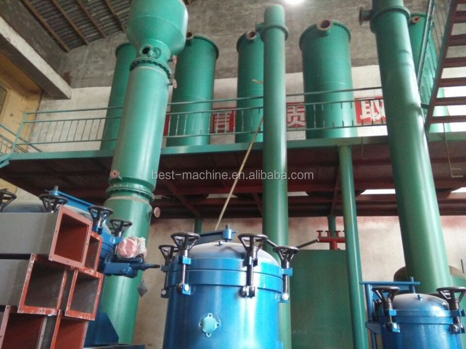 best price 1TPD stainless steel oil refinery machine for crude soybean oil