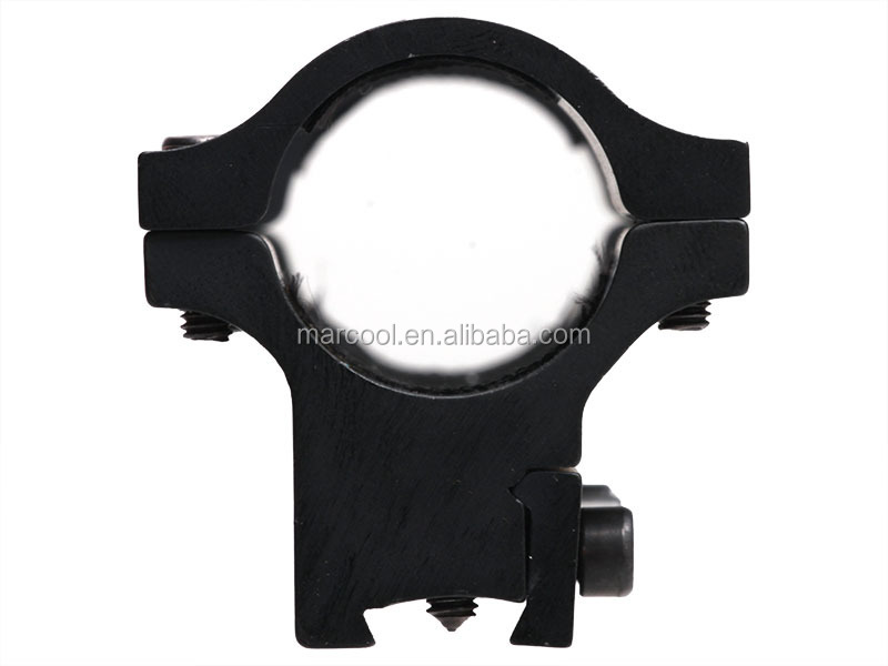 "Hunting High Profile See-Through 25.4mm 1"" Scope Picatinny Ring Mount 20mm Rail for Riflescope"