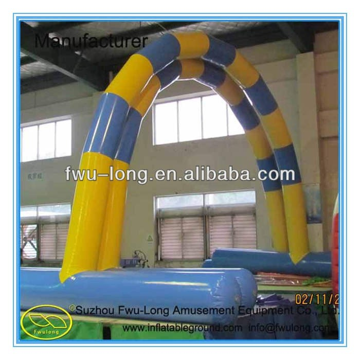 Hot-selling PVC customized inflatable finish line arch/inflatable advertising arch/inflatable arch rental