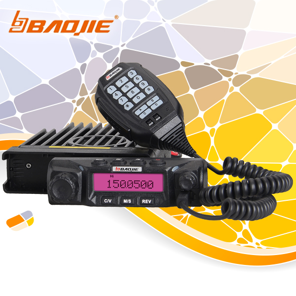 BAOJIE BJ-271C Cheap Price VHF Mobile Radio for Sale with Front Panel