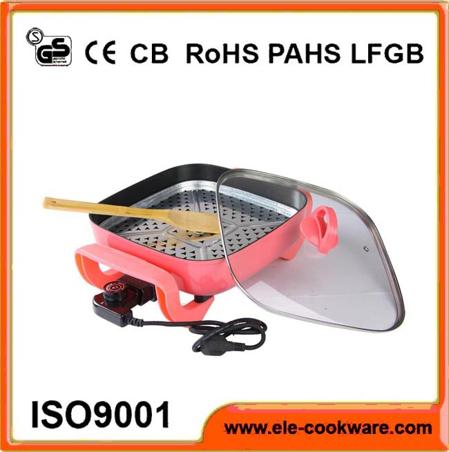Electric forged titanium coating frying pan