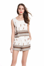 Stylish Women Two Piece Set Printed Clothing