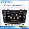 "ZESTECH audio player dvd gps 8"" car audio for Mazda 3 car audio player gps function"