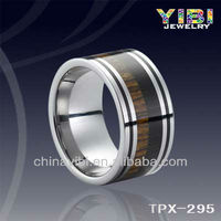 Forever Love Eternity Tungsten Ring,Natural Wood Love Couple Rings Jewelry,America Wholesale Jewelry