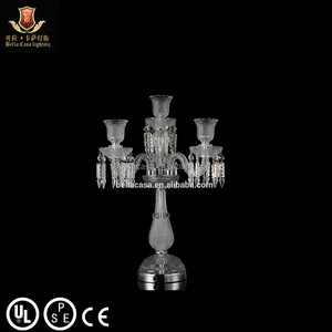 Wholesale Wedding Decoration crystal candelabra centerpieces on sale